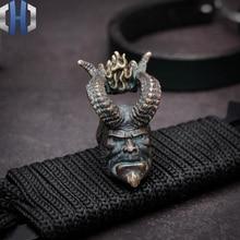 Original Hell Baron Knife Umbrella Pendant EDC Handmade DIY Beads