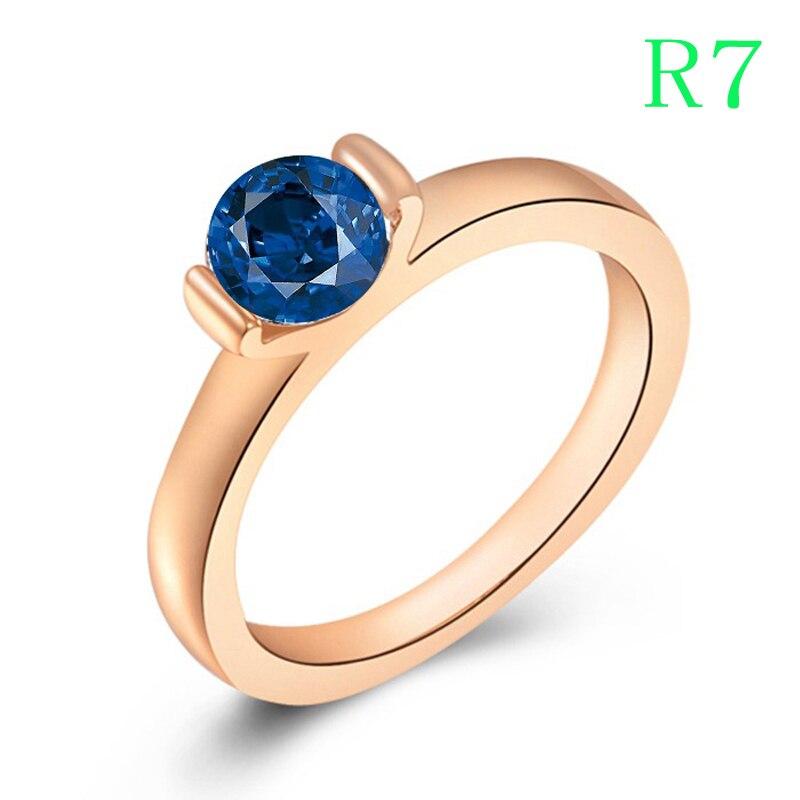 R7 anneau pour femmes et hommes ont USA taille 5 6 7 8 9 et 2 style chioce pour l'anniversaire cadeau