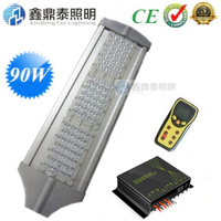 90W Led Street Lights DC 24V With Intelligent Wireless Dimming Solar Controller IP65 For Solar Energy