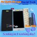 """Высокое Качество Сенсорного Экрана Digitizer + ЖК-Дисплей Для Sony Xperia M4 Aqua 5.0 """"мобильный телефон 1280*720 Черный Белый Цвет Бесплатная Доставка"""