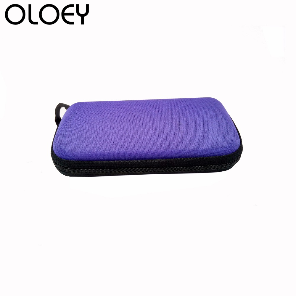OLOEY Cute Women Cartoon Bags for Glasses Casual Travel Pouch Portable Organizer Bag Girls Coin Purse Felt Minimalist Wallet