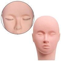 Эстетический манекен голова резиновая тренировка тренировочная голова для парикмахера манекен голова куклы для макияж ресниц
