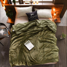 2 Size Luxurious Large Warm Thick Sherpa Throw Blanket Coverlet Reversible Fuzzy Microfiber All Season Plaid for Bed or Couch