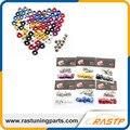 RASTP-Anilhas Fender Alumínio (10 Unidades/pacote) e parafuso para honda civic integra rsx ek eg dc (LS-QF002)