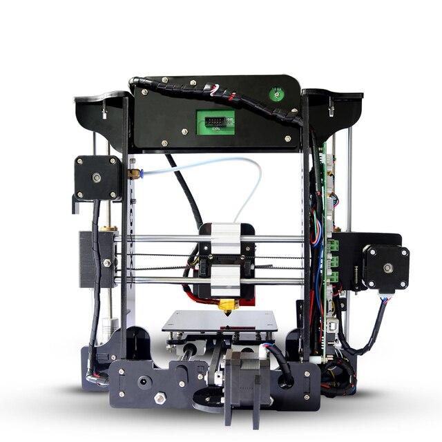 Tronxy Prusa XY100 с открытым исходным кодом 3d принтер акриловая рамка Высокая точность Impressora DIY комплект lcd 2017 Горячая продажа машина