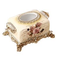 Home Furnishing High End Jewelry Ornaments Are European Living Room Table Paper Towel Box Box A