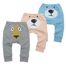 tender babies 3 pcs/lot Baby Pants Spring&Autumn Lovely 100% Cotton Infant Newborn Boy Girl Clothing