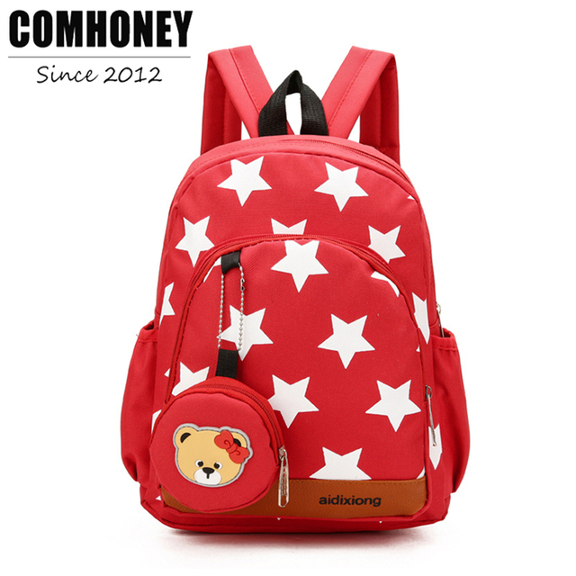 Aliexpress.com : Buy School Bags Kids Backpacks for School Stars ...