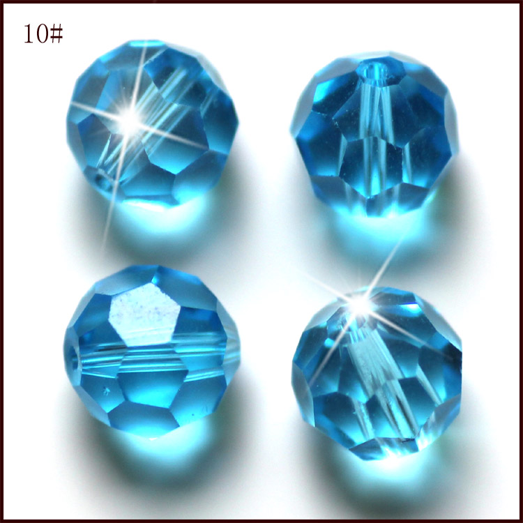 Factory Direct Wholesale 200pcs Bag AAA2 32Fa Round Crystal Glass Bead 4MM Loose Beads AAA Grade for Jewelry Making in Beads from Jewelry Accessories