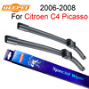 QEEPEI For Citroen C4 Picasso 2006 2008 32 30 R Wiper Blade Set Accessories For Auto