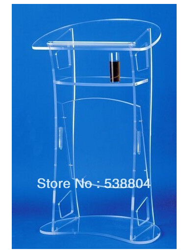 Acrylic Desktop Lectern Cheap Acrylic LecternFree Shipping Plexiglass School Podium/perspex Pulpit/clear Rostrum