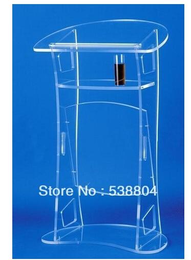Acrylic Desktop Lectern Cheap Acrylic LecternFree Shipping Plexiglass School Podium/perspex Pulpit/clear Rostrum