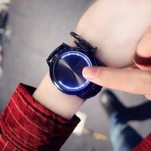 Waterproof LED Watch Men And Women Lovers Watch