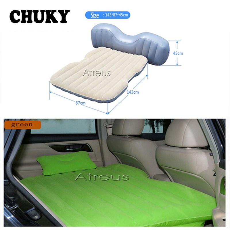 CHUKY 1X Car Air Mattress Travel Bed Inflatable Mattress For Toyota RAV4 Yaris Acura subaru Skoda