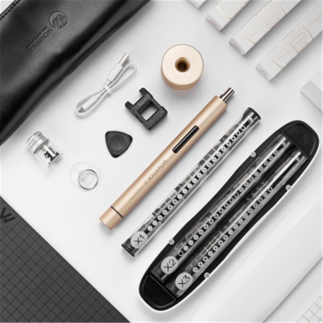 Wowstick 1F+1FS  mini cordless battery electric screwdriver  for mobile phone Camera Repair Power Tools mini Electric Drill Bit