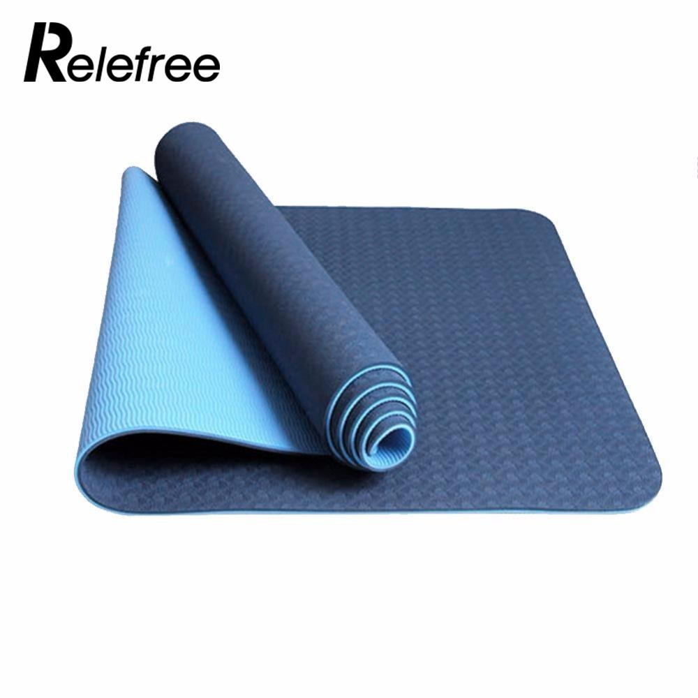 exercise colchonete product for pieryoga mats pad image slim yoga products environmental fitness tasteless gym mat sport