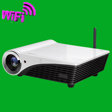 Windows 10 DLP 1280×800 5500 lumens 3D 4k Projector HD LED Video film movies beamer Bluetooth wifi HDMI USB