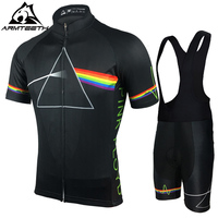 2017 Pink Floyd Cycling Sets Men MTB Shirts Breathable Bike Clothing Kits Quick Dry Sport Tops