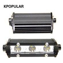 9 Вт рабочий свет светодиоды для автомобилей авто свет противотуманная фара прожектор автомобиля Дополнительная лампа светоизлучающая лампа автомобиля