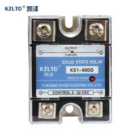 Relay 24v 3 32V DC To 5 220V DC Output Solid State Relay Module 60A Heat