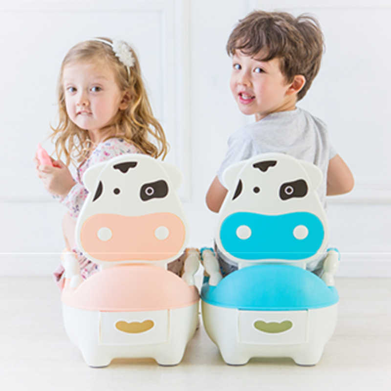 Baby Toilet Potty Training Chair for Children Pot Trainer Seat for kids Drawer Type Easy to Clean