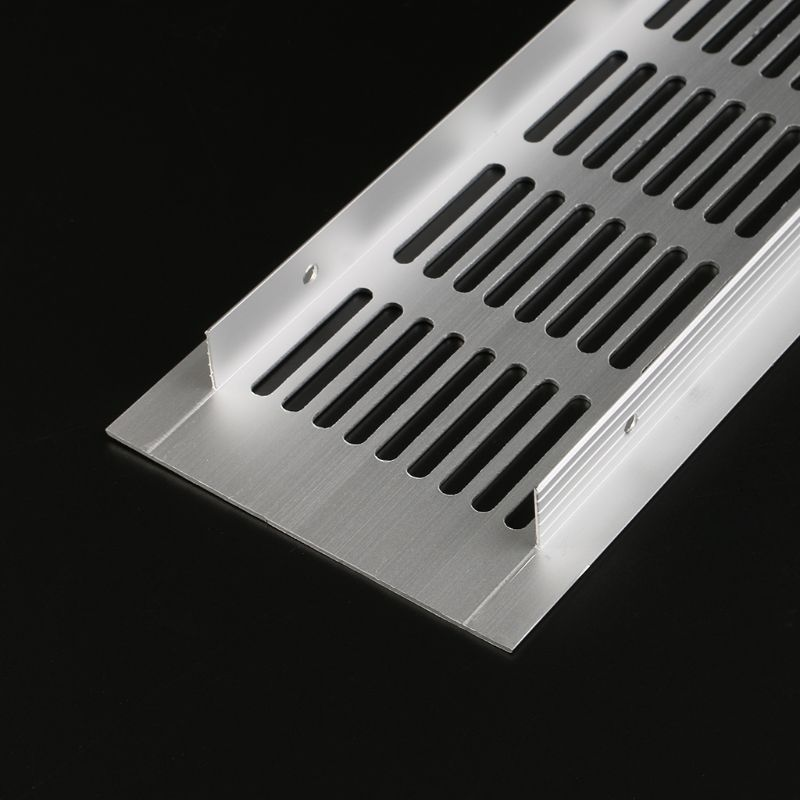 Multi size Aluminum Alloy Air Vent Perforated Sheet Web Plate Ventilation Grille 5