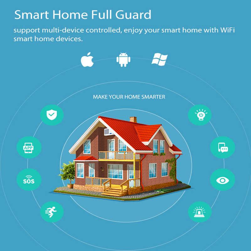 NEO COOLCAM واي فاي نافذة الباب الاستشعار أتمتة المنزل الذكي التطبيق تنبيهات الإخطار دعم أليكسا جوجل المنزل IFTTT