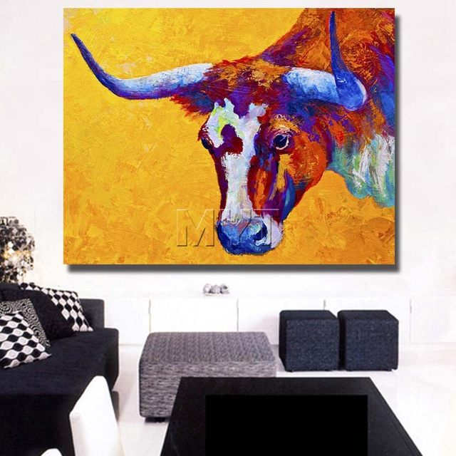 Online Shop The Spanish Bullfight Paintings Wall Art Painting ...