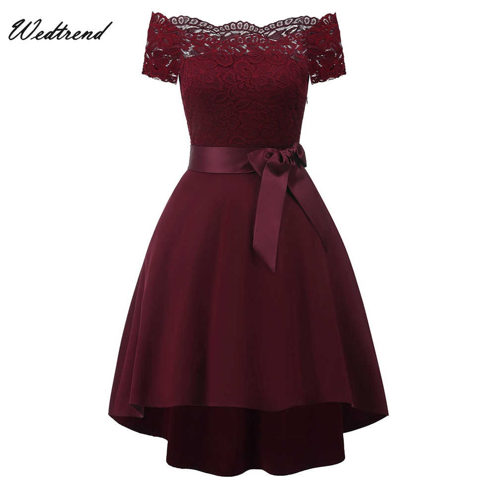 ed5df5ff1a Detail Feedback Questions about Wedtrend Summer Cocktail Dress 2019 ...