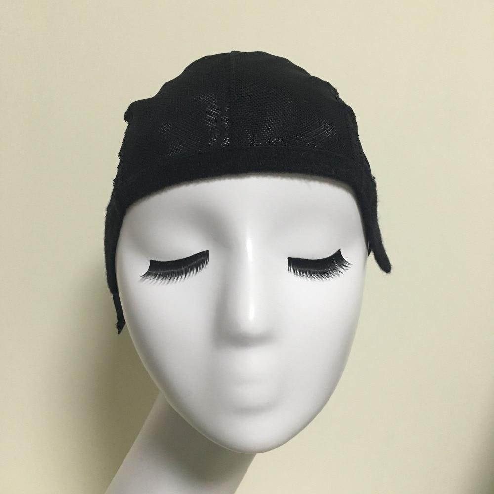 무료 배송 여성용 헤어 네트 & Hairnets Easycap6026에 대한 조절 스트랩과 위빙 모자를 만들기위한 가루 레이스 가발 모자