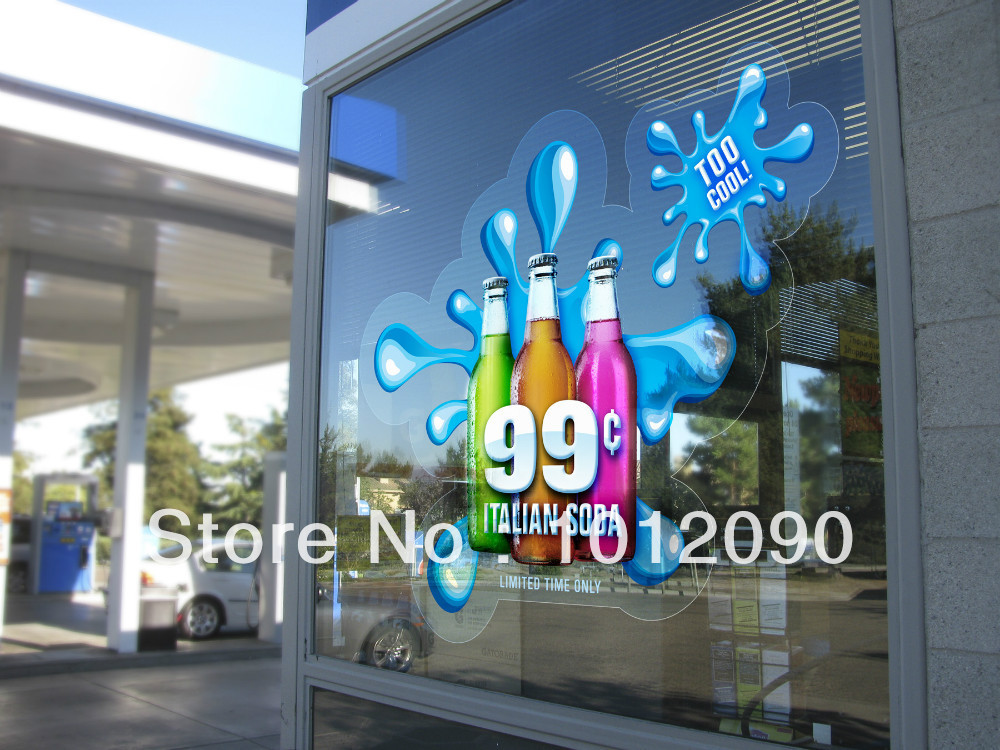 Print Glass Stickers