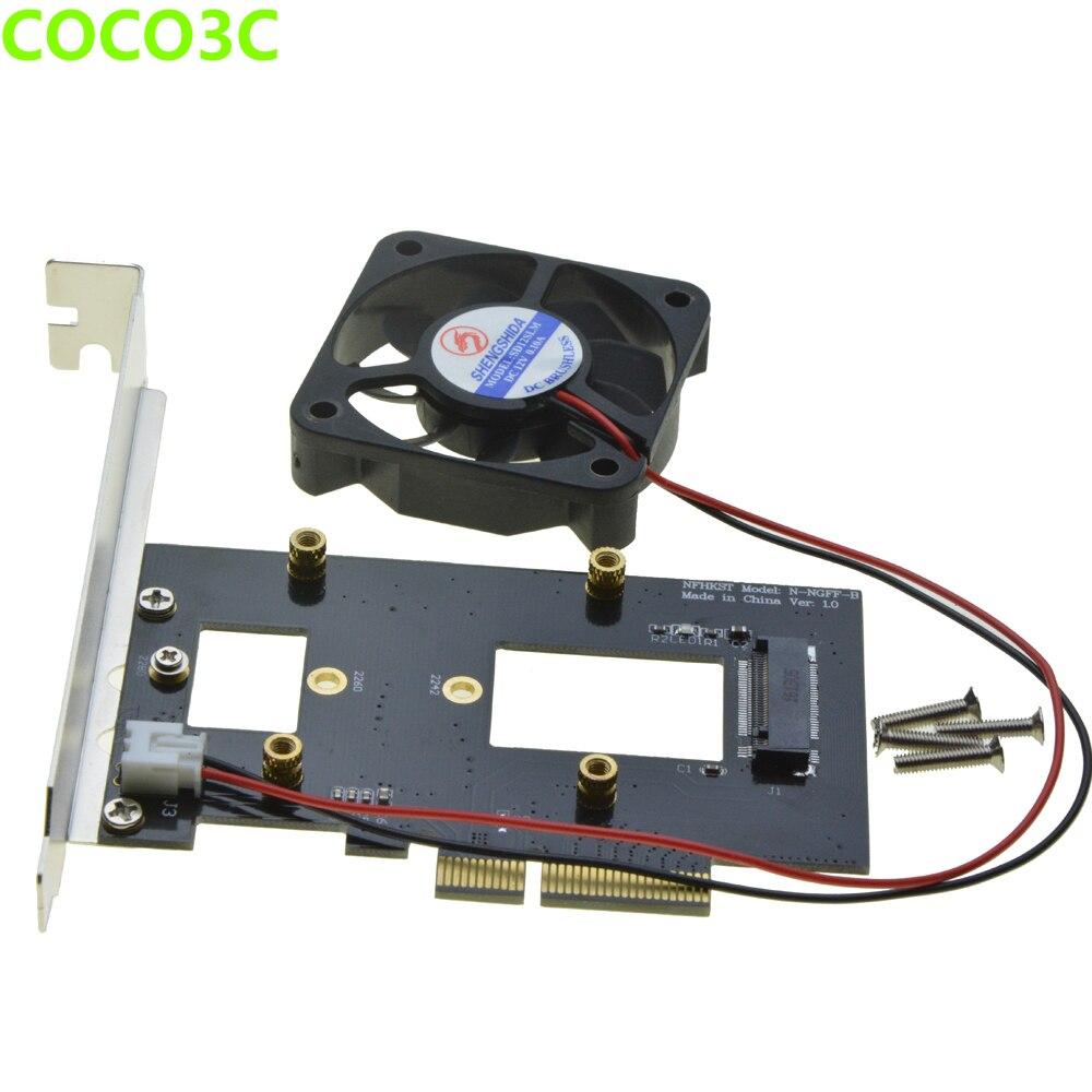 PCI-e 4x naar M-toets NGFF SSD Adapter voor SAMSUNG 950 PRO XP941 - Computer componenten - Foto 6
