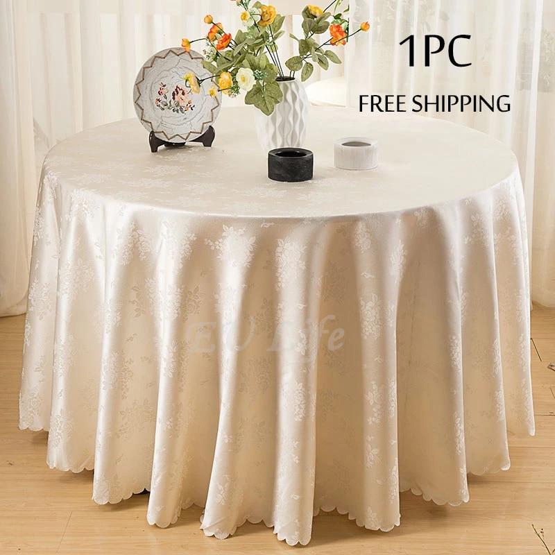 """132/"""" Round Polyester Nappe Pour Fête De Mariage Banquet événements Décoration"""