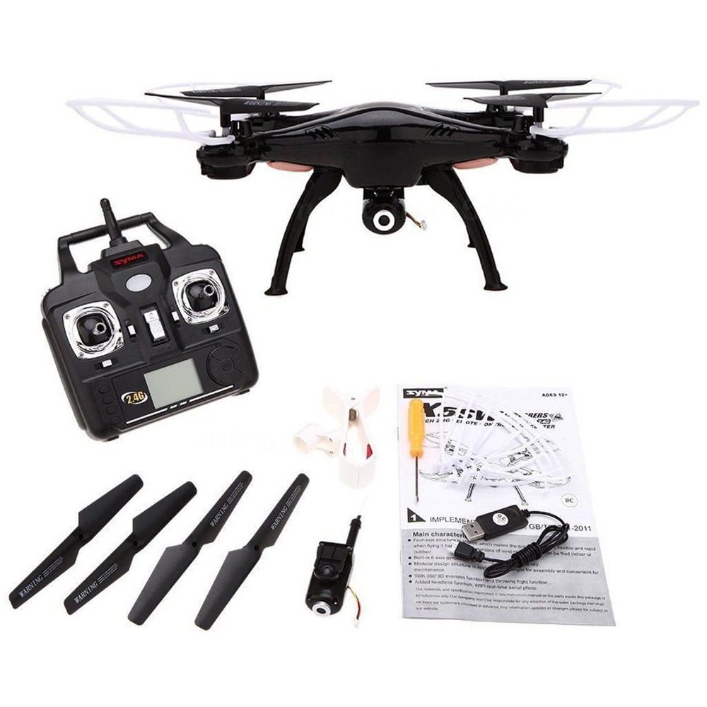 X5SW 2.4G RC Quadcopter Drone 6-Axis Professional aerial RC Helicopter Quadcopter Toys Drone For Syma  Newest mini drone rc helicopter quadrocopter headless model drons remote control toys for kids dron copter vs jjrc h36 rc drone hobbies