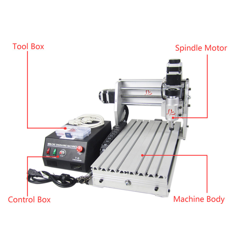 230W 3Axis DIY CNC Milling Machine 3020 45mm Z Axis Stroke cnc spindle YOOCNC router 230W 3Axis DIY CNC Milling Machine 3020 45mm Z Axis Stroke cnc spindle YOOCNC router