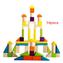 New Wooden Baby Toys Colorful Blocks Educational