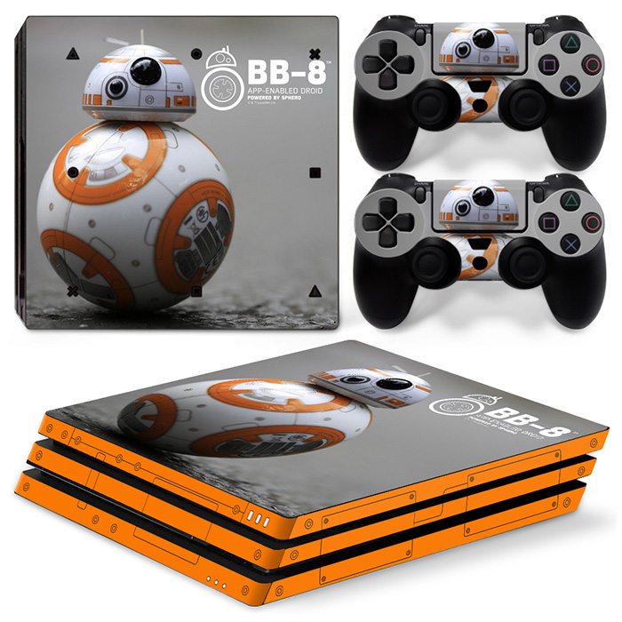 Super New Version Design Decal Cover and Skin Sticker for PS4 Pro Console and Controller