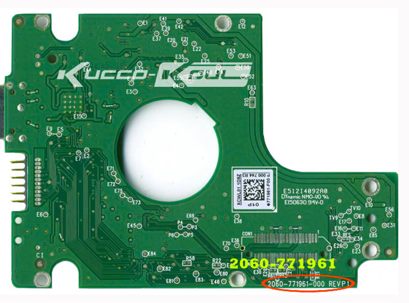 HDD PCB for Digital Board Number:2060-771822-002 REV A P1