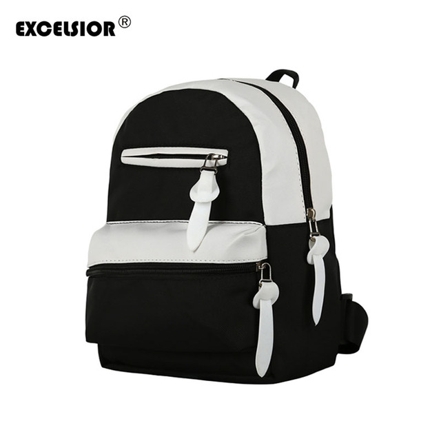 12c8c2e7ebad EXCELSIOR 2017 Women s Canvas Backpack Ladies Bags mini women backpack  Schools backpacks for teenage girls mochila