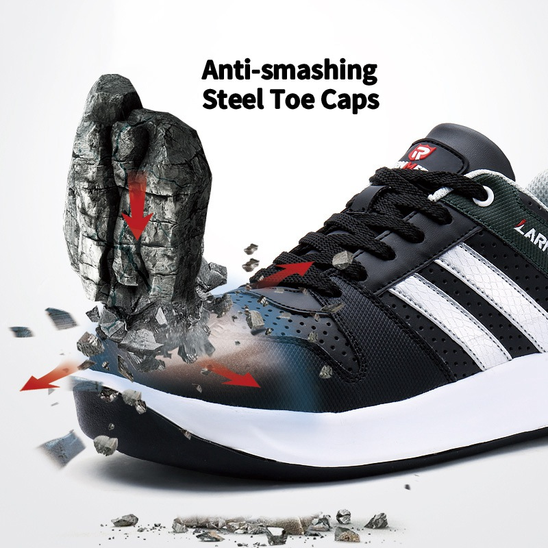 LARNMERN Miesten Steel Toe Cap Work Safety Kengät Unisex - Miesten kengät - Valokuva 4
