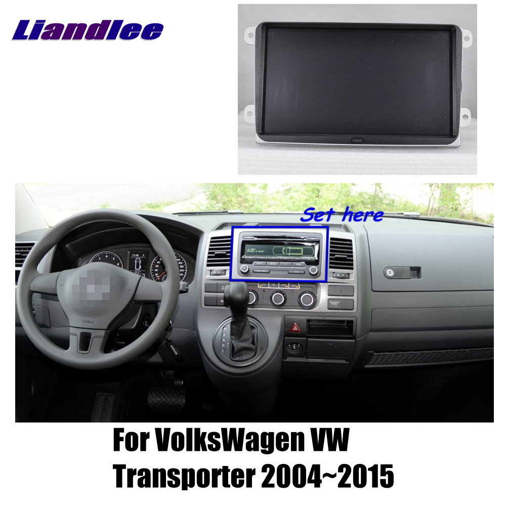 Liandlee 7 For VolksWagen Transporter 2004~2015 Car Android Radio Player GPS NAVI Maps HD Touch Screen TV Multimedia No CD DVD