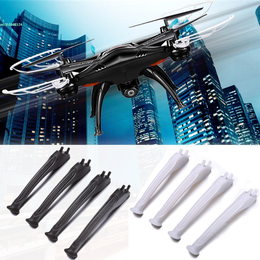8pcs Black White Landing Skids Gear Set for Syma X5SC X5SW font b RC b font