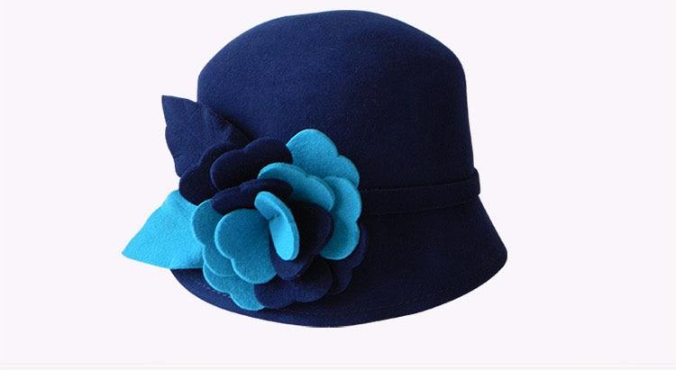 3_woman wool felt hat