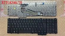 SP/FR لوحة مفاتيح DELL E5540 لوحة المفاتيح دون نقطة التتبع
