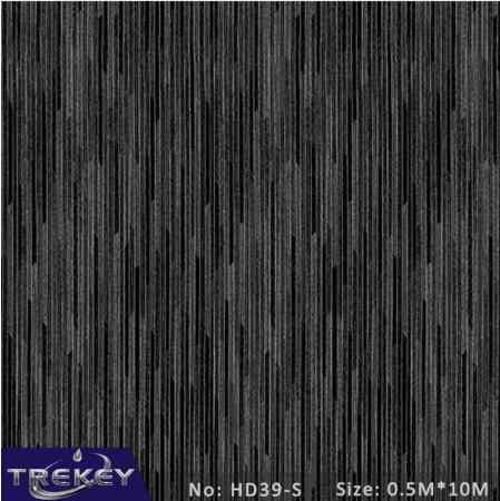[Ширина 0,5 м] матовая серая металлическая пленка для переноса воды, гидрографическая пленка, гидропогружная пленка для Аква печати HD9-S