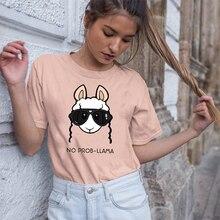 GUMPRUN Summer Casual Women O Neck Fashion Graphic Tees Short Sleeve Streetwear Aesthetic T Shirt Loose Cotton Tops Tshirt