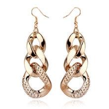 Hot Sale New Style Fashion Acrylic Chain Shape Female Drop Earrings,Long Earrings For Women Dresses,Free Shipping