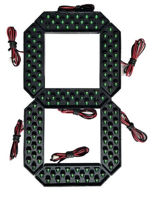 10 inch Green color led digital number module5