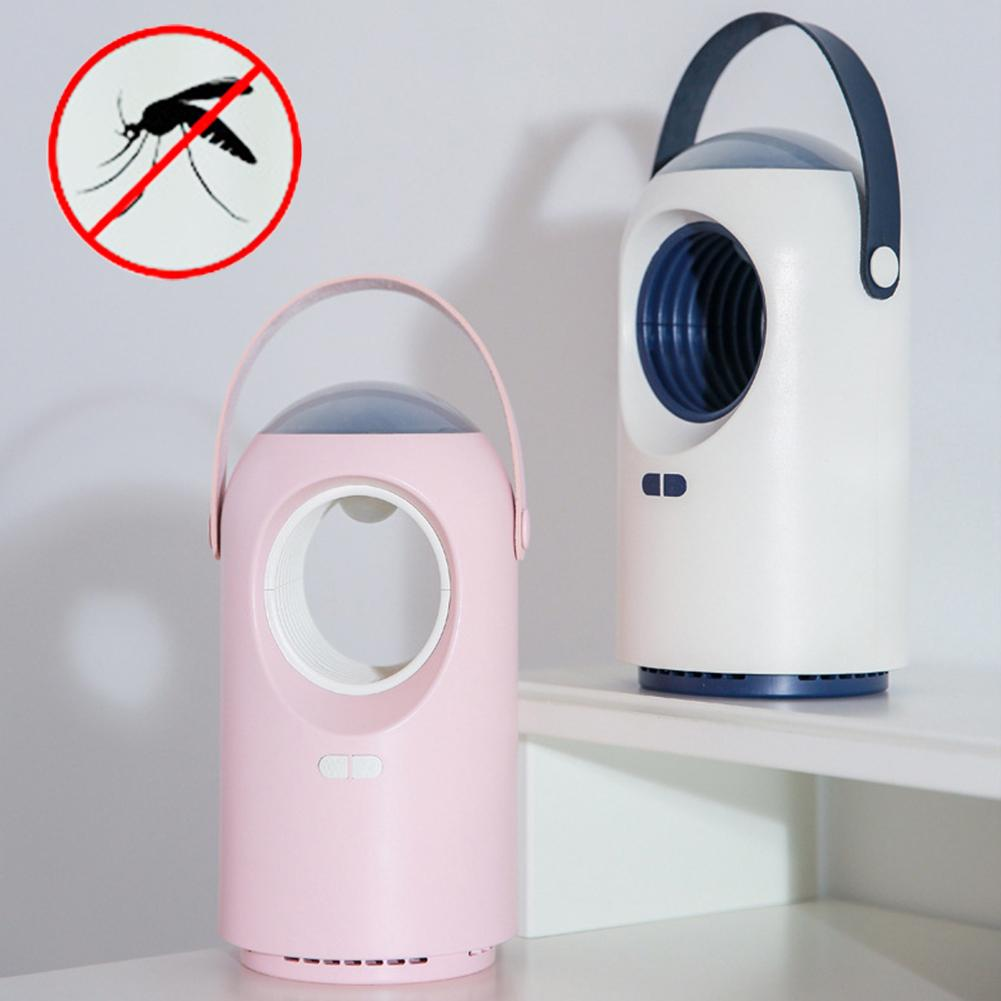 New Portable USB Electronics Mosquito Killer Lamp Trap Moth Fly LED Light Repeller(China)
