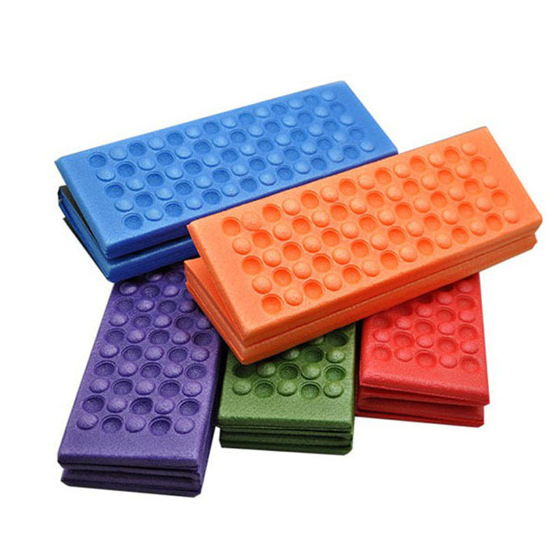 Soft Waterproof Durable Camping Hiking Picnic Portable Cushion Seat Pad Outdoor Folding Camping Moisture-proof Foam Cushion